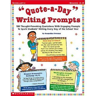 Quote a Day Writing Prompts 180 Thought Provoking Quotations with