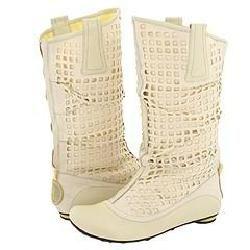 Jump Gina Shoe Ivory Boots