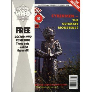 Official Magazine Issue #189 5th August 1992 Cybermen Everything Else