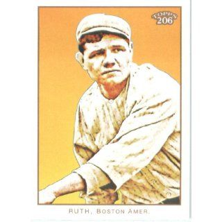 2009 Topps 206 #287 Babe Ruth   Pitching (287A)   Boston