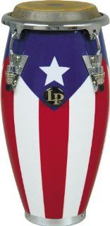 LPM198 PR LPMC Mini Tunable Puerto Rican Flag Wood Conga