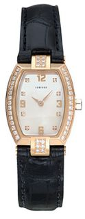 Concord La Scala 18k Rose Gold Diamond Watch