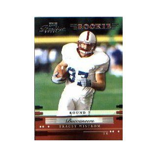 2002 Playoff Prestige #205 Tracey Wistrom RC: Collectibles