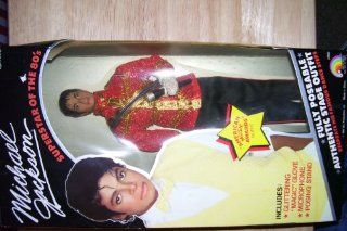 Michael Jackson Barbie Doll Superstar of the 80s American