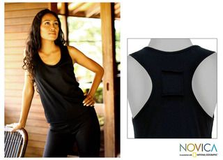 Classic Black Cotton Tank Top (Indonesia)