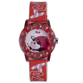 Trudi Kids Red Plastic Lady Bug Watch