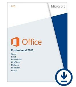 Microsoft Office Professional 2013 (1PC/1User) [Download