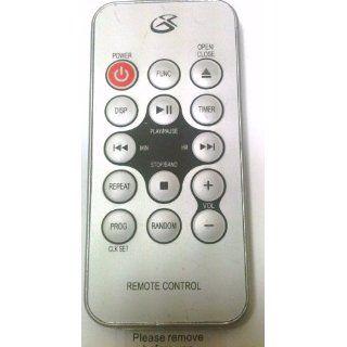 GPX Under Cabinet Cd Player, Radio Remote Control KC318S