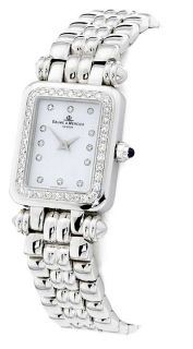Baume and Mercier Womens 18 kt. White Gold Diamond Watch