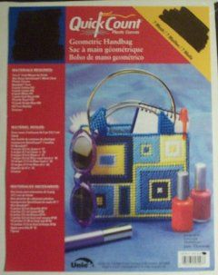 Geometric Handbag (Quick Count Plastic Canvas) Craft
