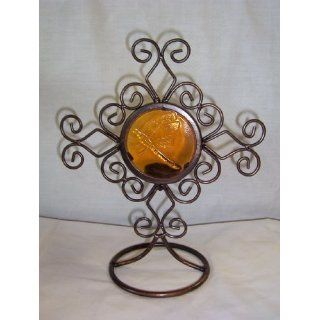 Yellow Dragonfly Candle Holder Everything Else