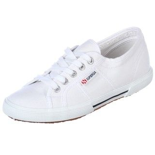 Superga Womens 2950 Cot White Shoes
