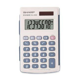 SHREL243SB   EL243 Solar Pocket Calculator Electronics