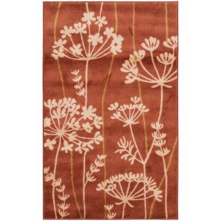 Hand tufted Searobin Burnt Orange Rug
