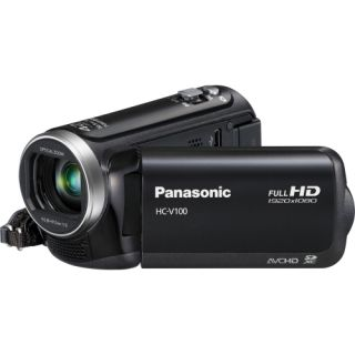 Panasonic HC V100 Black Digital Camcorder