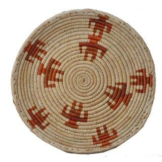 Straw Basket, Fruit Basket, African Straw Plate, #253 Everything Else