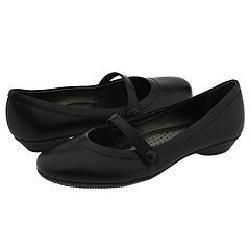 Vigotti Maira Black Leather Flats