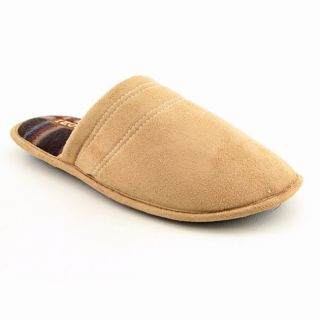 Izod Backless Mens Beige Tan Slipper Shoes