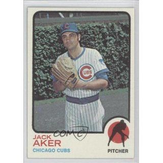 Jack Aker Chicago Cubs (Baseball Card) 1973 Topps #262 Collectibles