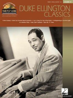 Duke Ellington Classics   Piano Play Along Volume 39   BK