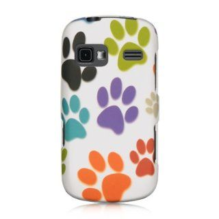 VMG Sprint LG Rumor Reflex LN272 Design Hard Case Cover   White Multi