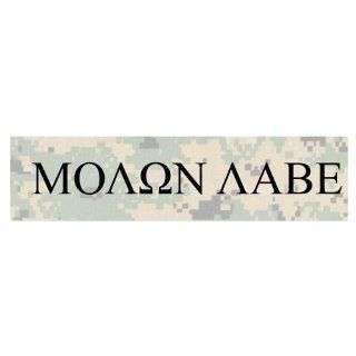Molon Labe   Come and take them(greek) (Bumper Sticker