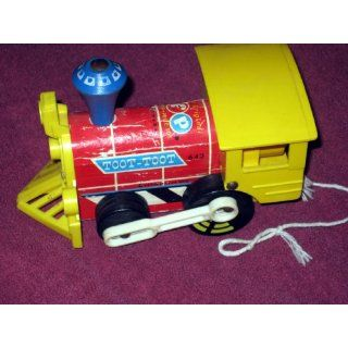 VINTAGE FISHER PRICE     TOOT TOOT TRAIN: Everything Else
