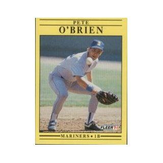 #459 Pete OBrien UER/(1987 BA .266&/should be .286) Collectibles