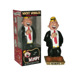 Popeye the Sailorman Wimpy Bobble Head