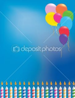 Balloon birthday background  Stock Photo © Jo Ingate #2206022