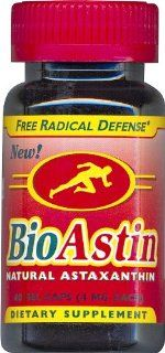 Nutrex Hawaii BioAstin Natural Astaxanthin 4 mgs., 60 gel