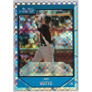 2007 Bowman Chrome X Fractor JOEY VOTTO Rookie 99/299 Everything Else