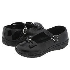 Pampili 367.026.080 (Infant/Toddler) Black Slip ons