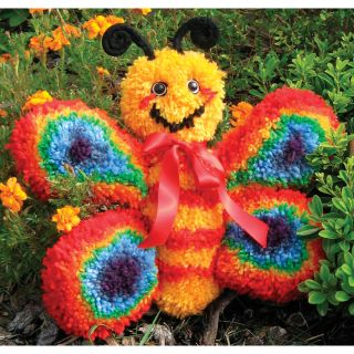 Huggables Butterfly Stuffed Toy Latch Hook Kit Today: $24.99