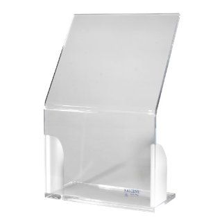 Beta Radiation Shield, Acrylic, Angled With Sides, 457 x 305 x 152mm
