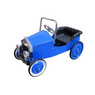 Classic Voiture Blue Pedal Car