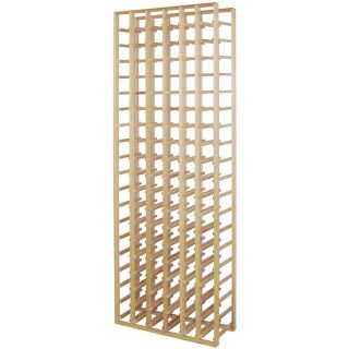 Epicureanist 73.37 inch 6 column Wood Wine Rack