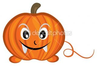 Pumpkin cartoon character  Stock Vector © Samiah Binti Samin