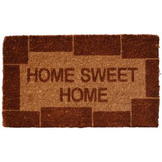 Coir Home Sweet Home Welcome Mat