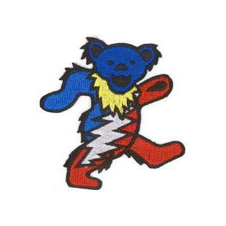 Grateful Dead   Lightening Dancing Bear   Embroidered Iron