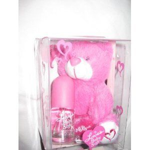 LOVES BABY SOFT AND COLOGNE MIST PINK TEDDY BEAR Toys