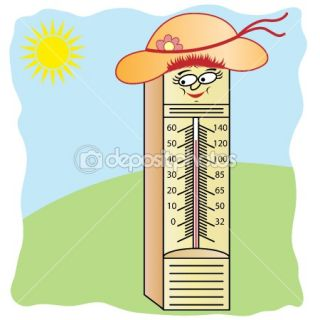 Thermometer Cartoon Character  Stock Vector © toots77 #2304616