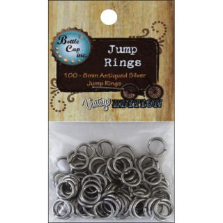 Vintage Collection Silver Jump Rings 8mm (Pack of 100) Today $5.79