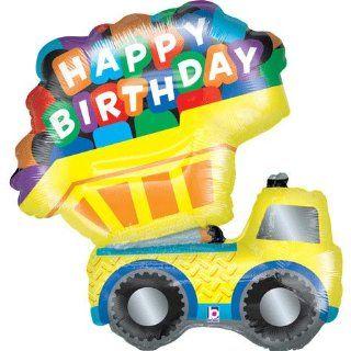 Dump Truck 33 Jumbo Foil Balloon Toys & Games