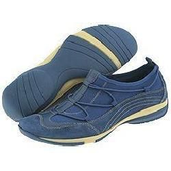 Easy Spirit Pick Me Dark Blue Suede(Size 6.5 M (B))