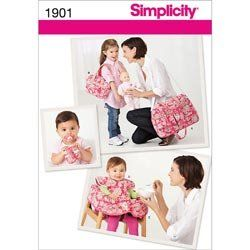 Simplicity 1901 Baby Accessories Sewing Pattern, Size OS