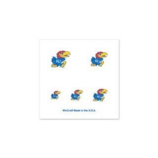 Kansas Jayhawks Official Logo Fingernail Tattoos: Sports
