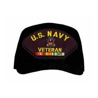 U.S. Navy Veteran with Logo and Vietnam Ribbons Ball Cap