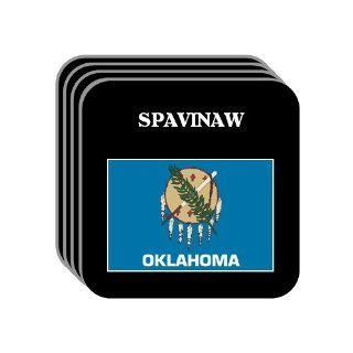 US State Flag   SPAVINAW, Oklahoma (OK) Set of 4 Mini