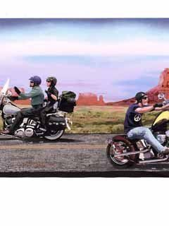 Harley Davidson Motorcycle Wallpaper Border